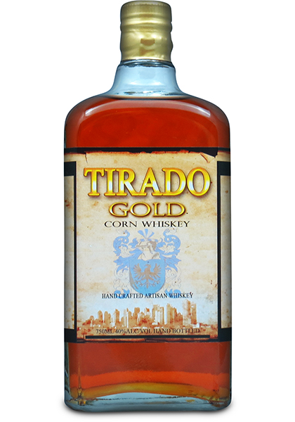 Tirado-Gold-Corn-Whiskey-Artisan-Awards-2014