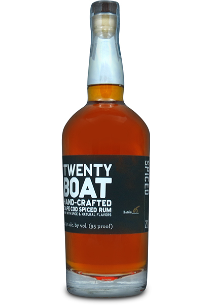 Twenty-Boat-Hand-Crafted-Cape-Cod-Spiced-Rum-Artisan-Awards-2014