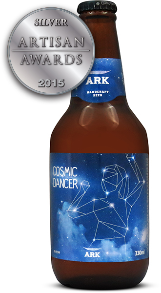 Ark Cosmic Dancer American Wheat Beer Korea Craft Brewery