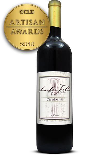 Amber Falls Winery and Cellars Chambourcin 2013