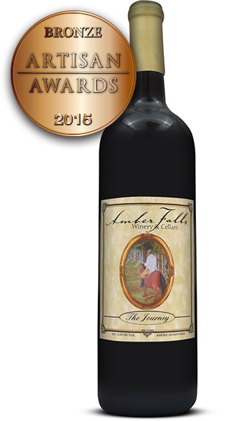 Amber Falls Winery and Cellars The Journey Merlot Blend