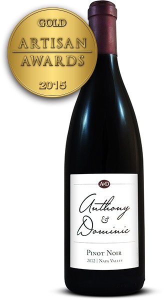 Anthony Dominic Pinot Noir 2012
