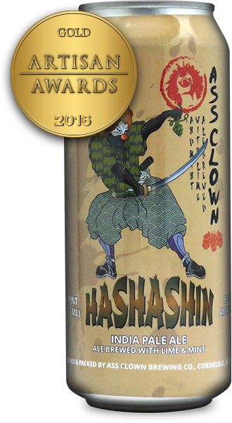 Ass Clown Brewing Co. Hashashin India Pale Ale