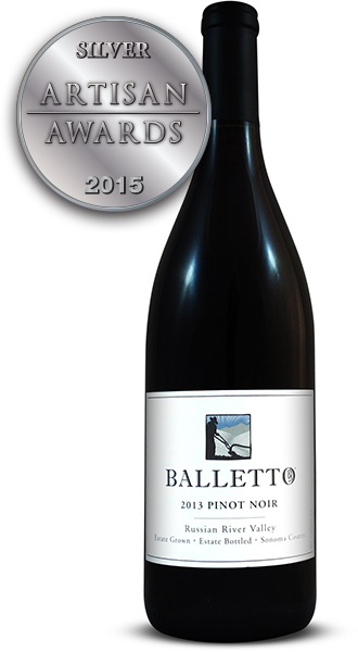 Balletto Vineyards Pinot Noir