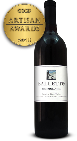 Balletto Vineyards Zinfandel