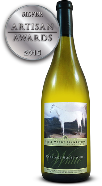 Belle Meade Winery Carriage House White Vidal Blanc