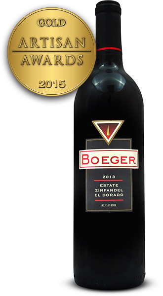 Boeger Winery Estate Zinfandel 2013