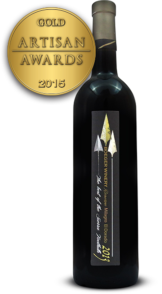Boeger Winery Milagro 2013