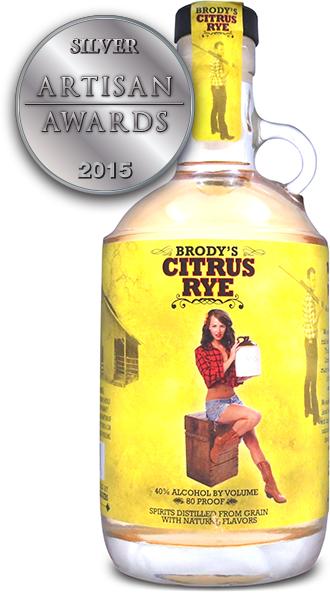 Brody's Citrus Rye Fruit Infused Unaged Rye
