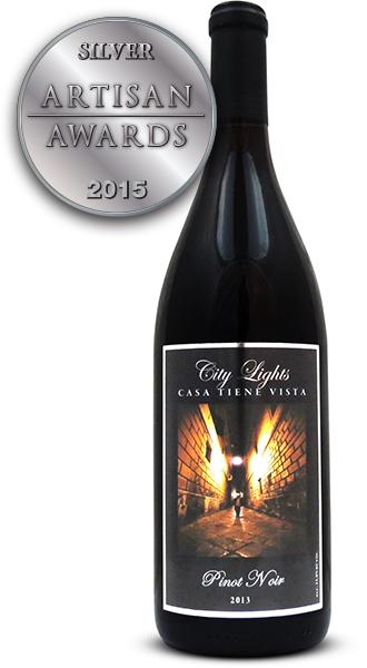 Casa Tiene Vista Vineyard City Lights Pinot Noir