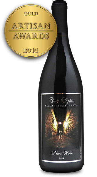 City Lights Pinot Noir 2014