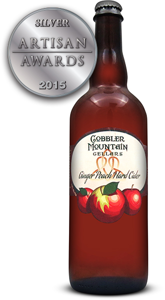 Cobbler Mountain Cider Ginger Peach Hard Cider