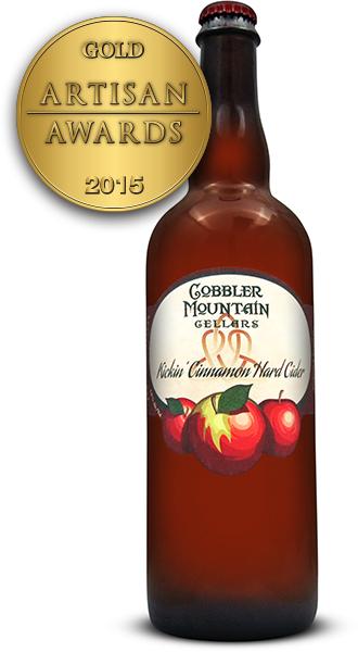 Cobbler Mountain Cider Kickin' Cinnamon Hard Cider