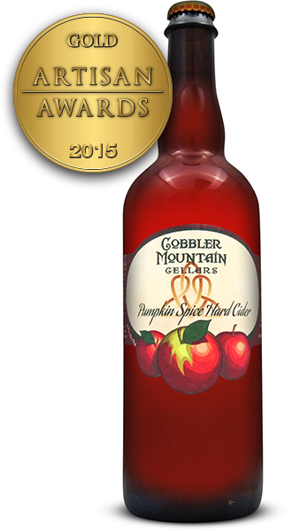 Cobbler Mountain Cider Pumpkin Spice Hard Cider
