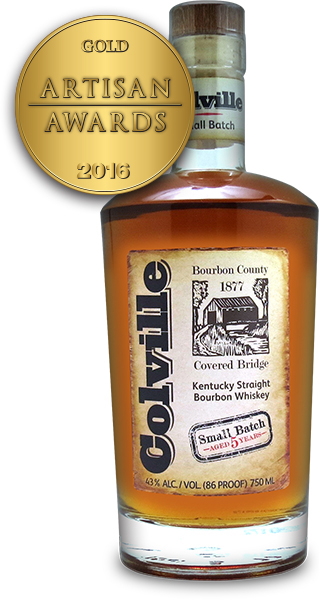 Colville Kentucky Straight Bourbon Whiskey Small Batch Aged 5 Years