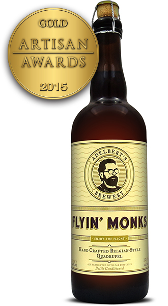 Adelbert's Brewery Flyin' Monks Quadrupel