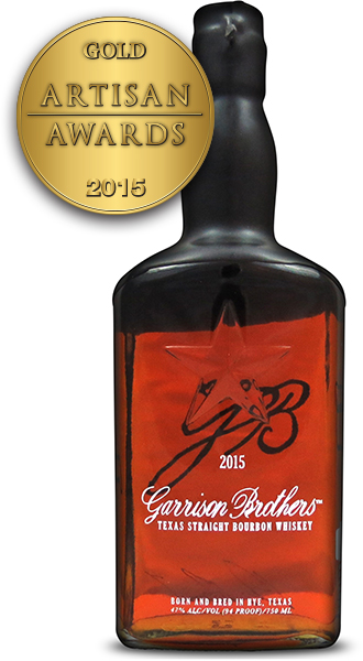 Garrison Brothers Texas Straight Bourbon Whiskey