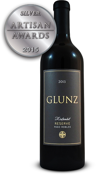 Glunz Family Winery Cellars Reserve Zinfandel 2013
