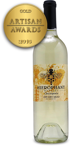 Hierophant Meadery Chrysopoeia Off Dry Mead