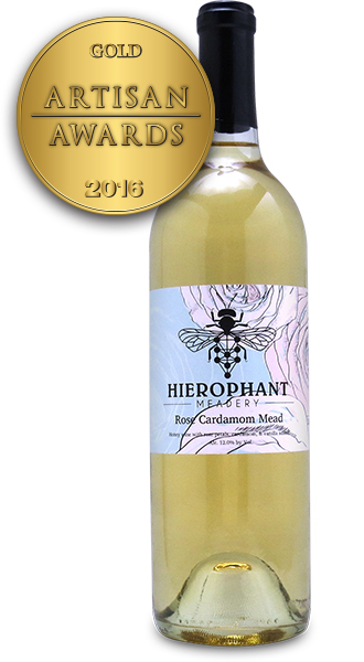 Hierophant Meadery Rose Cardamom Mead