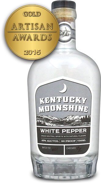 Kentucky Moonshine White Pepper