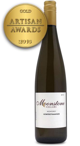 Moonstone Cellars Monterey Gewurztraminer 2015