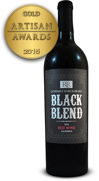 Extremely Rare Rare Red Black Blend 2012