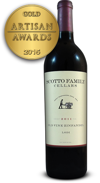Scotto Family Cellars Zinfandel 2011