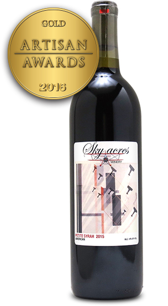 Sky Acres Winery Petite Syrah 2015