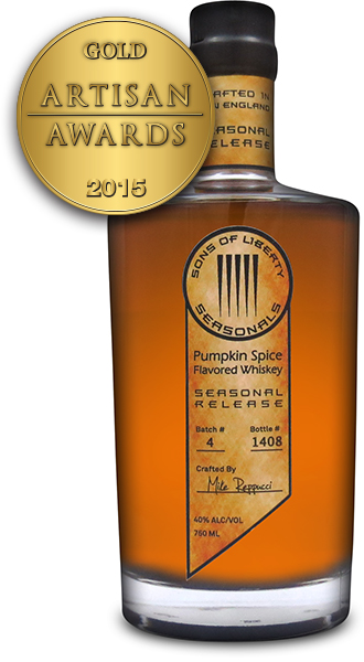 Sons of Liberty Seasonal Pumpkin Spice Flavored Whiskey