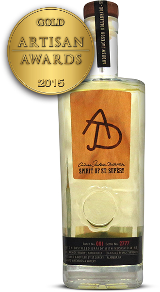 Spirit of St. Supery Brandy with Moscato Wine