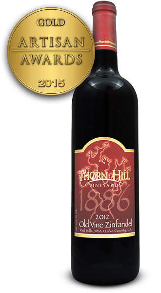 Thorn Hill Vineyards Old Vine Zinfandel 2012