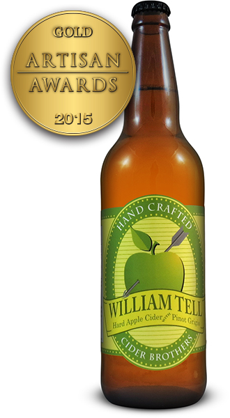 William Tell Hard Apple Cider with Pinot Grigio