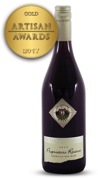 Chaddsford Proprietors Reserve American Red Wine 2015