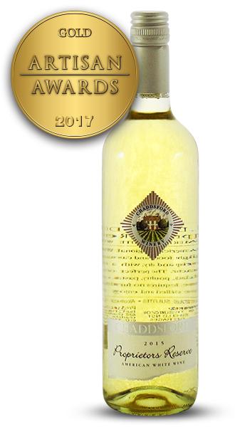 Chaddsford Proprietors Reserve American White Wine 2015
