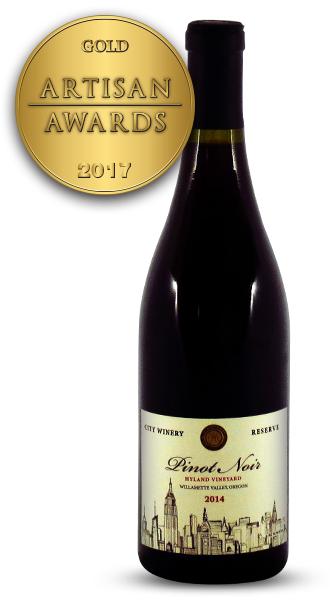 City Winery Reserve Pinot Noir 2014