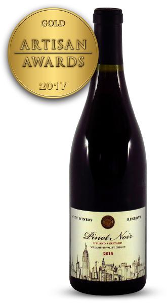 City Winery Reserve Pinot Noir 2015