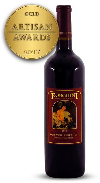 Forchini Old Vine Zinfandel 2015