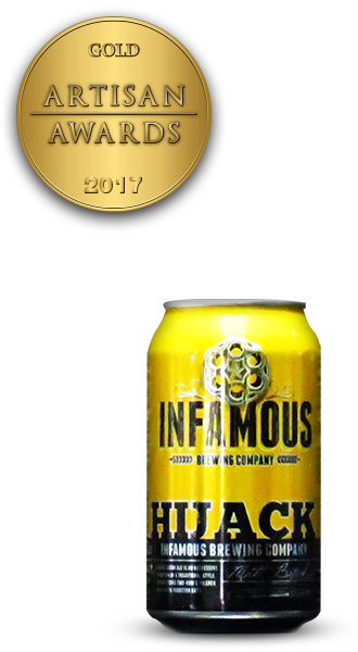 Infamous Brewing Company Hijack Blonde