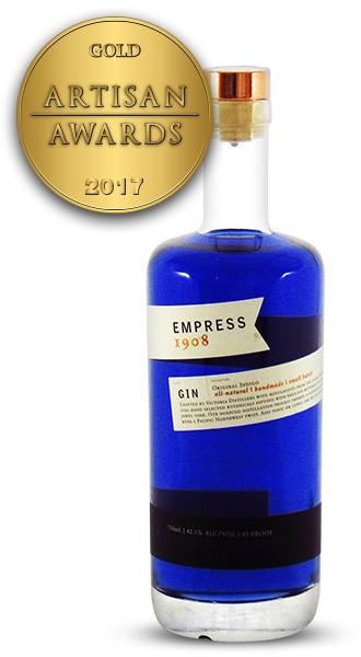 Victoria Distillers Empress 1908 Gin