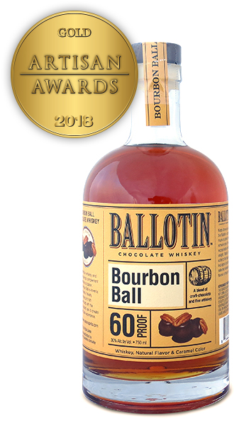 Ballotin Bourbon Ball Chocolate Whiskey