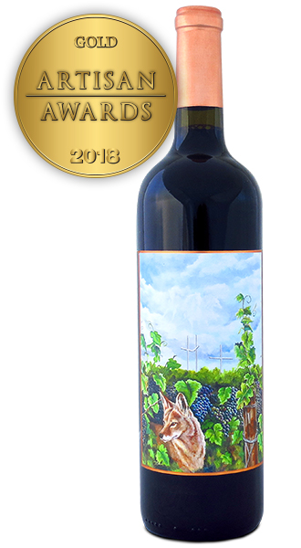 Coyote Canyon Winery 2015 Petit Verdot H/H Estates Reserve Artist Series
