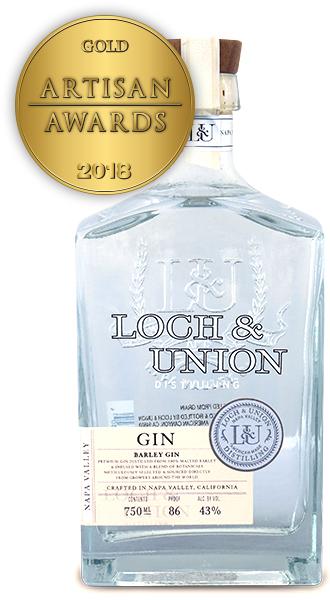 Loch & Union Distilling Barley Gin
