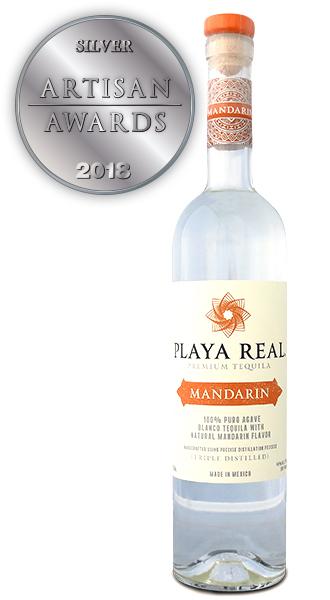 Playa Real Premium Mandarin Tequila