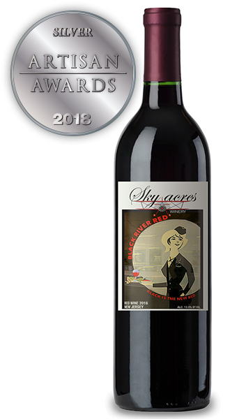 Sky Acres Winery Black River Red