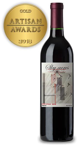 Sky Acres Winery, Petite Syrah